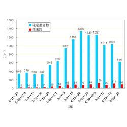 2019 年 インフルエンザ 死者 数
