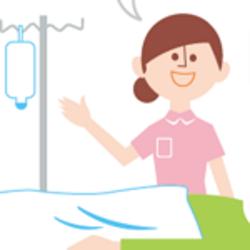 「点滴は30分ほどで終わります。先にお手洗いに行かれますか」の記事画像