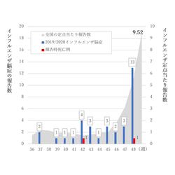 2019 インフルエンザ 死亡 数
